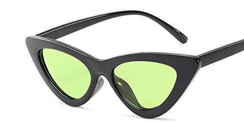 C10 Blanco Matices De C8 Green Sol Sexy Hembra Gato De Gafas Sol TIANLIANG04 Mal Uv De Gafas De Black Vintage Ojo Diseño Mujer Gafas Gafas Amarillo RwOqH71