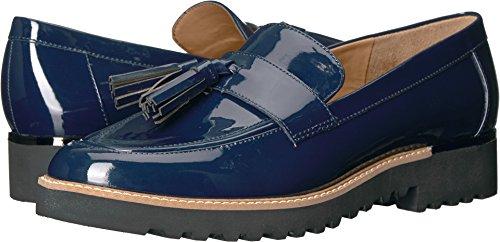 Franco Sarto Women's Carolynn Loafer Flat, Inky Navy, 8 M US (Blue Loafers)