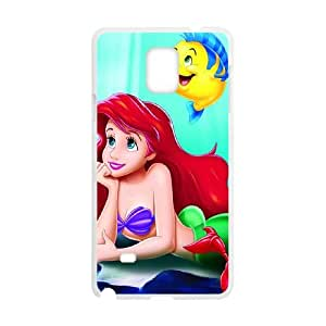 The Little Mermaid Samsung Galaxy Note 4 Cell Phone Case White Rnmry