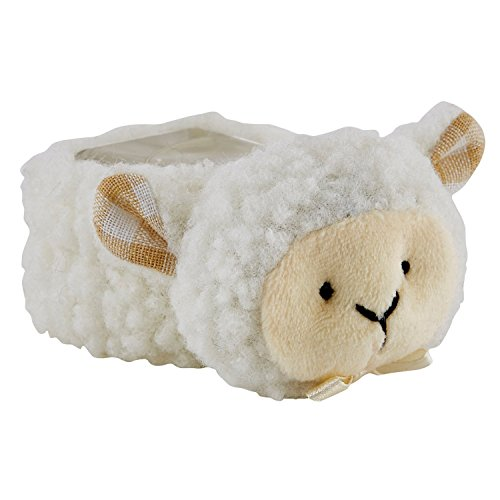 Stephan Baby Boo-Ewe Plush Comfort Toy and Boo Cube, Little Lamb