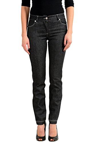 Versace Versus Gray Slim Fit Women's Jeans US 5 IT - Versace Women Clothing