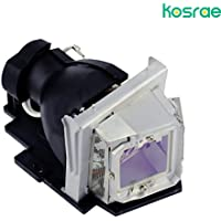 Kosrae Projector Replacement Lamp 4210X with Bulb and Generic Housing for Dell 4210X/ 4310WX/ 4610X/ 4220/ 4320 projector