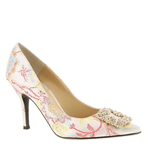 J.renee Bilboa Womens Pump Rosa Pastello Multi