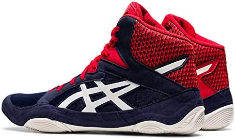 41vXvtPnWnL. AC ASICS Men's Snapdown 3 Wrestling Shoes    Made in USA or ImportedBreathable Mesh Upperkimono tongue inspiration provides a better foothold and an improved fitSynthetic Leather and Mesh Upper: Lightweight, comfortable and breathable, enhancing performance and fit
