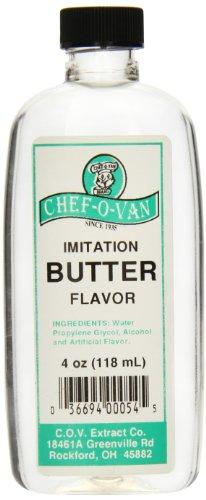 Chef-O-Van Imitation Butter Flavor, 4 Ounce