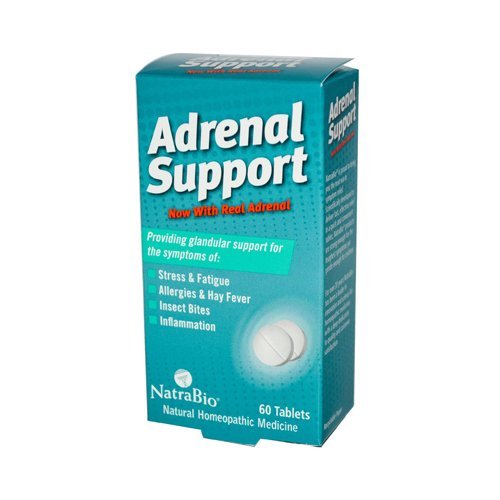 NatraBio Adrenal Support - 60 Tablets ()