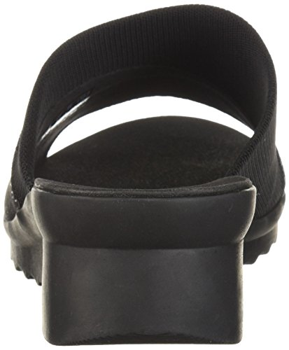 Clarks Sandalo Da Donna Caddell Ivy Slide Nero Sintetico