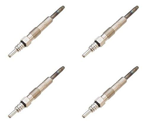 GLOW PLUG SET OF 4 1997-2004 VOLKSWAGEN 1.9L TDI REPLACES DRX00059 1116 1761060