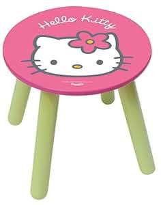 Jemini 711249 - Taburete de madera, diseño de Hello Kitty
