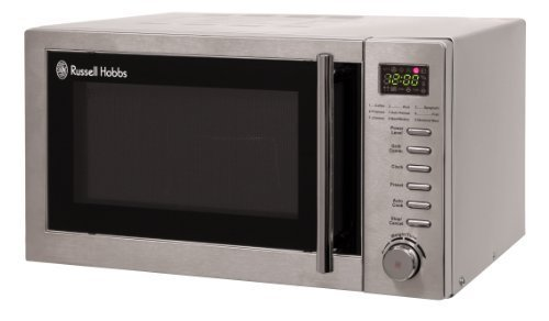Russell Hobbs RHM2031 20 litre Stainless Steel Digital Microwave With Grill by Russell Hobbs