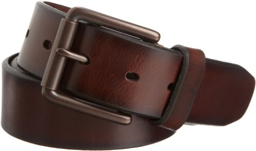 Dockers Men's 1 1/2 In. Leather Bridle Belt,Brown,36