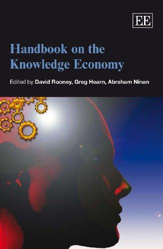 Handbook on the Knowledge Economy (Elgar Original Reference) David Rooney