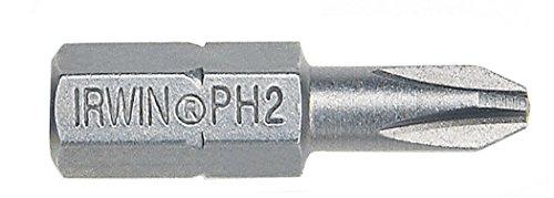 Irwin Tools 35104725#2 Point Phillips Drywall Screwdriving Insert Bit (25-Pack) ()