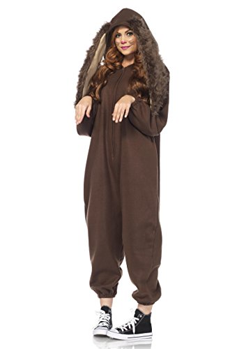 Leg Avenue Women's Lop Ear Bunny Kigurumi, Brown, Small/Medium by Leg Avenue (Image #3)