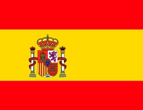 Spanish Flag Fridge Magnet, FLAGS: Amazon.co.uk: Kitchen & Home