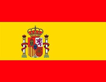 Calamita per frigorifero, motivo: bandiera spagnola: Amazon.it: Casa e  cucina