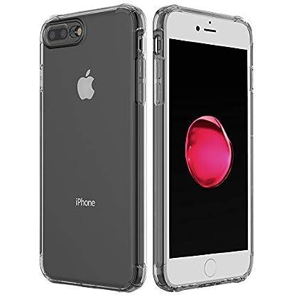Amazon.com: ANHONG Funda transparente para iPhone, [a prueba ...