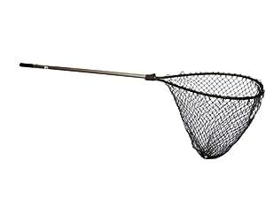 Frabill 8417 power catch teardrop landing net for Amazon fishing net