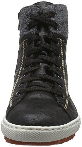 Schwarz Hautes Rieker Granit Noir Sneakers Femme 01 Y8442 wEqZrXqx4