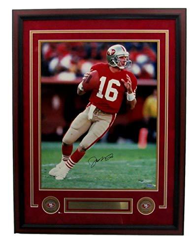 Joe Montana 49ers Autographed/Signed 16x20 Photo Framed Upper Deck 141349