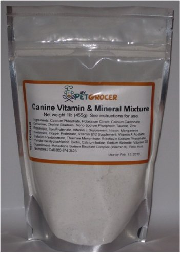 MyPetGrocer Vitamin and Mineral Mixture for Dogs 1 lb, My Pet Supplies