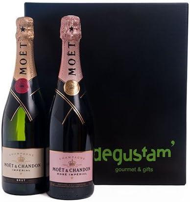 Estuche con Champagne Moët & Chandon: Amazon.es: Alimentación y bebidas