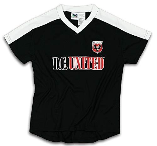 D.C. United MLS Boys Team Jersey, Black (XX-Large)