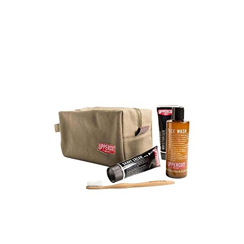 Uppercut Deluxe Men's Kit - Wash Bag Filled (Pack of 6) by Uppercut Deluxe