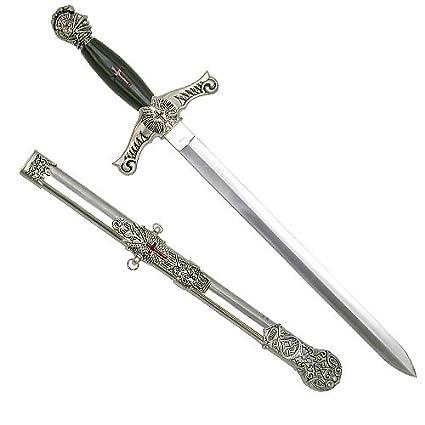 Amazon.com: Ceremonial Templarios Masónico Caballeros espada ...