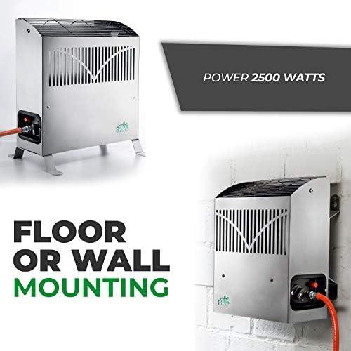 Bio Green FY 25//GB 2.5KW Frosty Propane Greenhouse Heater