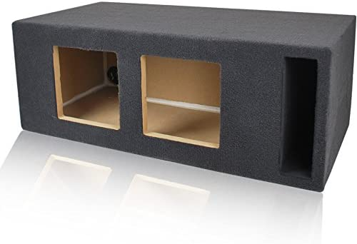"""2 1.50 FT³ @ 34Hz PORTED//VENTED CAR SUBWOOFER BOX ENCLOSURE FOR 8"""" SUB WOOFERS"""