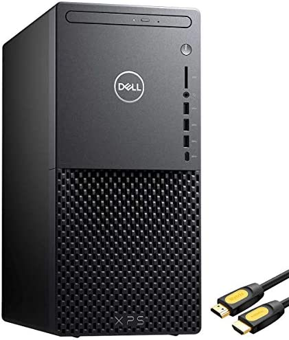 Dell XPS 8940 1660Ti Gaming Desktop Tower PC, Core i7-10700 8-Core, GeForce GTX 1660Ti, Killer Network, 16GB RAM, 512GB SSD+1TB HDD, WiFi 6, DVD-RW, Mytrix HDMI Cable, Win 10