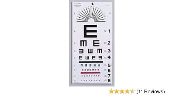 Amazon Graham Field Health A Illiterate Eye Chart 22 X11