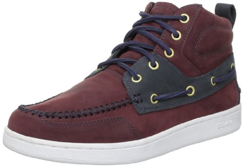 Sebago WENTWORTH MID B23102, Sneaker uomo Rosso (Rot (Blk Cherry/Navy))