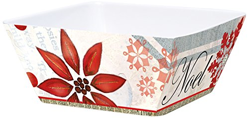 Lisa Dining Collection (Lang Winter Holiday Melamine Square Bowl by Lisa Kaus (2103002))