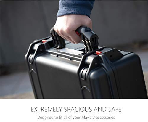 MOZATE PGYTECH Hardshell Shockproof Case Box Suitcase Bag for DJI Mavic 2 &Smart Controller (Black) by MOZATE (Image #4)