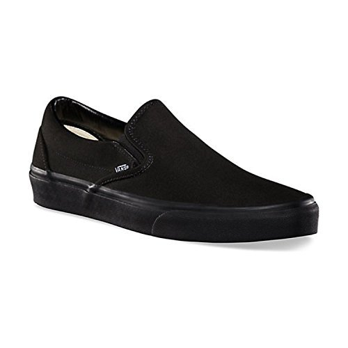 Vans  Vans, Herren Skateboardschuhe Vibrant Yellow-True White, schwarz - Black/Black Canvas - Größe: Männer 38,5 EU