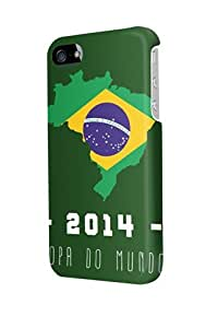 ip50779 brazil 2014 Glossy Case Cover For Iphone 5/5S by mcsharks