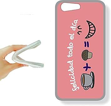 Elephone S7 - funda gel tpu con dibujo frases molones, ref:283 ...