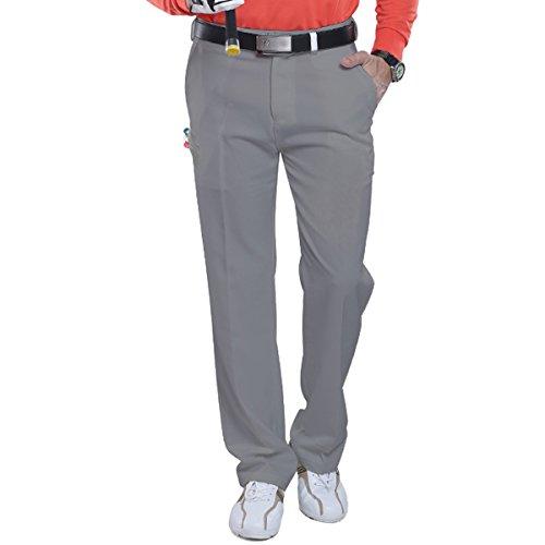 【Selling-sports】メンズ ゴルフ ウェア ストレッチ 紳士 ゴルフパンツ ボトムス アウトドア GOLF 春夏秋用 多機能 美脚 脚長 ゴルフウェア