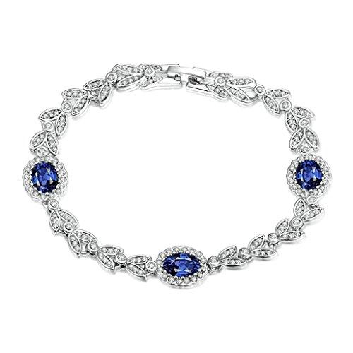 Daesar Gold Plated Bracelets Womens Bracelet White Charm Bracelets Geometric Bangle - Best Seattle Eyeglasses