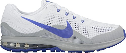 Nike Air Max Dynasty 2 White/Paramount Blue/Wolf Grey Mens Running Shoes (Air 2 Max Nike Light)