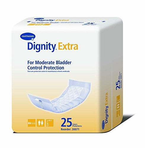 Dignity Plus Super Absorbent Liners (4 x 12 - 25/bag) by (Dignity Plus Liners)
