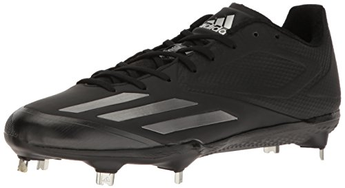 adidas Mens Freak X Carbon Mid Baseball Shoe Black/Neo Iron Met. Neo Iron Met. Fabric