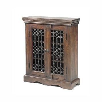 Jali Sheesham DVD Cabinet - Indian Wood Furniture