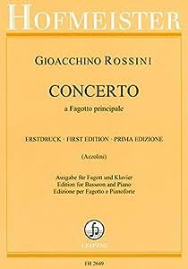 ROSSINI - Concierto para Fagot y Piano (Azzolini/Dohnert)