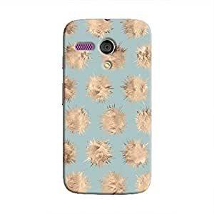 Cover It Up - Sand Star Cyan Moto G Hard Case