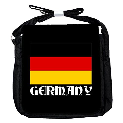 Deutschland -Flagge - Unisex-Umhängetasche