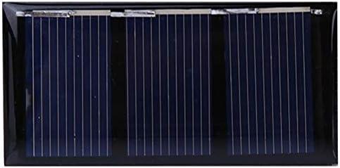 Dgtrhted 0.2W1.5V Mini Sonnenkollektor-Ladegerät Polykristalline Silizium Außenladestromversorgung