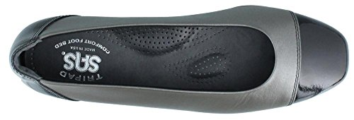 Flats Women's SAS On Slip Coco Graphite 64xFwHq